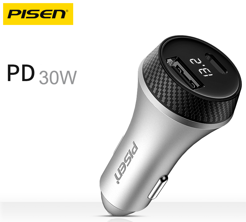 Sạc Car Charger QC + PD 30W