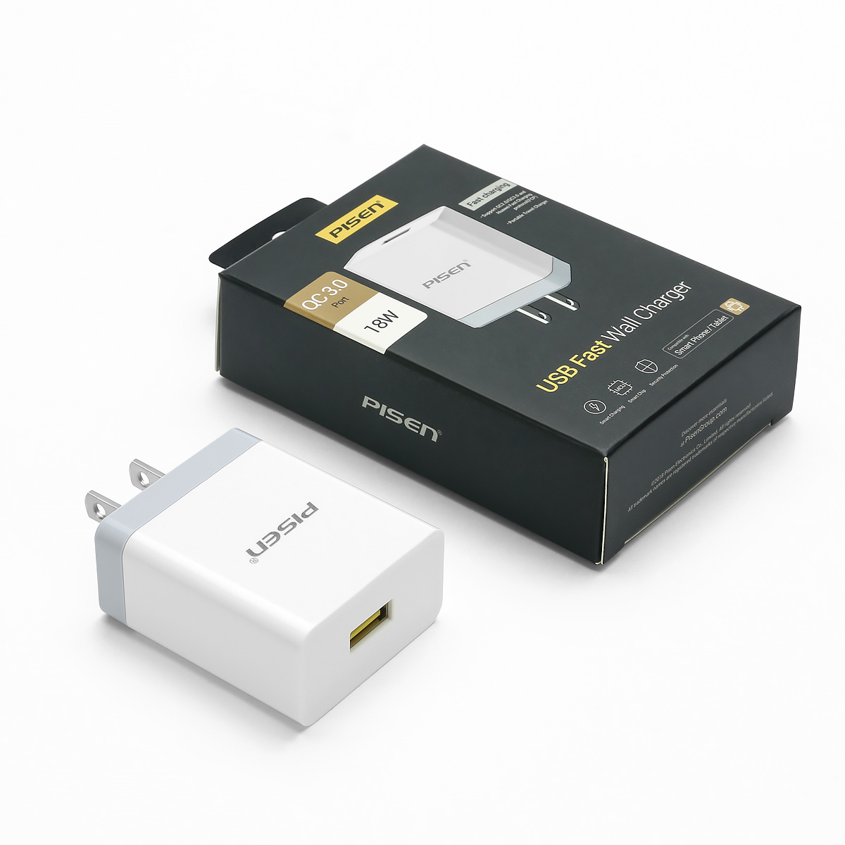 Củ Sạc Quick USB Fast Wall Charger QC 18W