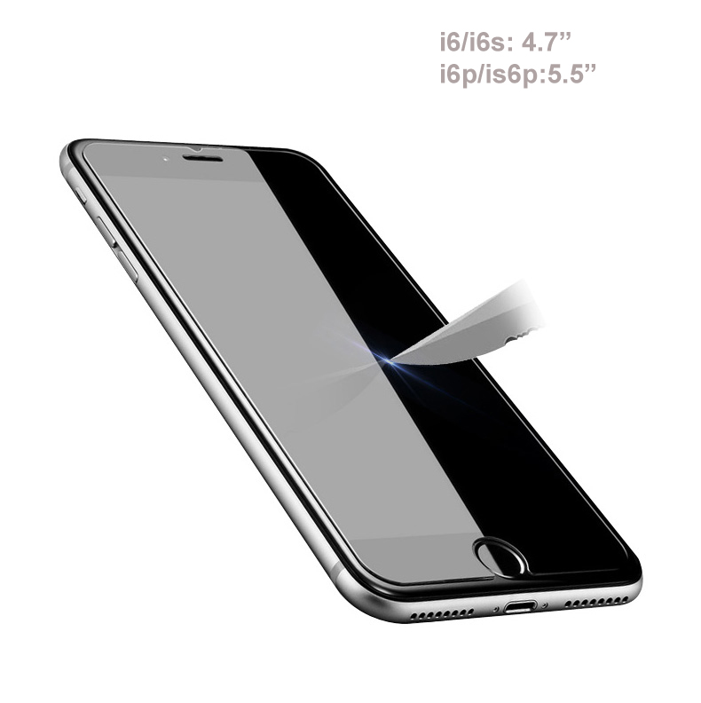 Pisen Glass Screen 2,5D iphone6/ i6s/i6p/i6sp - i7/i7p/i8/i8P